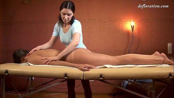 Marusya hot virgin naked massage