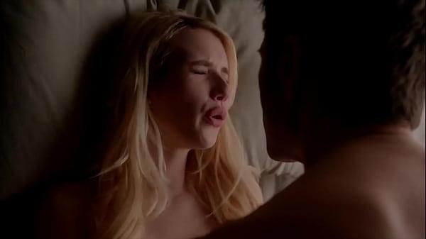 Emma Roberts Scream Queen All Sex Scene