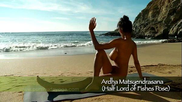 mira ocean naked yoga goddess
