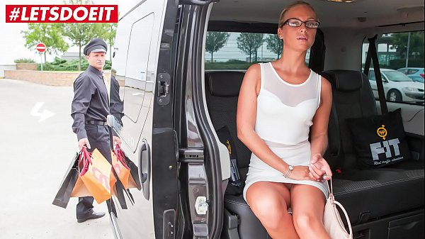 VIP SEX VAULT - Horny Milf Cums All Over the Taxi Drivers Back Seat Thumb