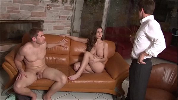 Big Breasted Daughter Fucked by Father & Son - Molly Jane - Family Therapy