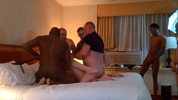 RECORDED LIVE STREAM of Ashley LaShae GANGBANG includes facial and BBC Thumb