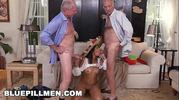BLUE PILL MEN - Frankie & Jack Moore Go South Of The Border On Victoria Valencia Thumb