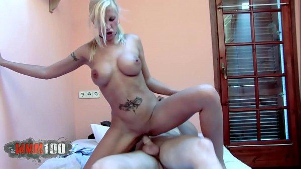 Hot big tits spanish blonde slut fucked hard Thumb