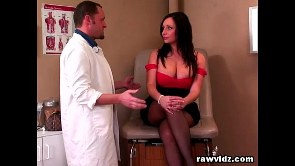 Dirty Clinic: Vannah Sterling Voluptuous Brunette Rides Doc's Cock