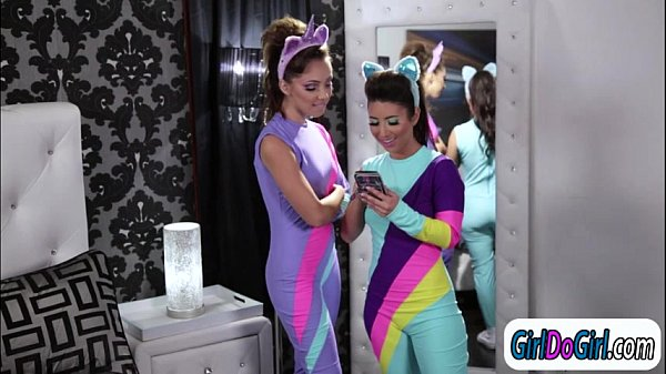 Brony Serena Blair facesitting her girlfriend Jenna Sativa  thumbnail