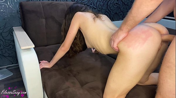 Skinny Girl Blowjob and Passionate Doggystyle Fuck after College - Cumshot Thumb