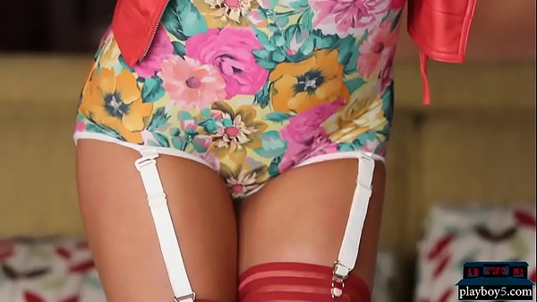 High heels and sexy lingerie MILF Christiana Ci...