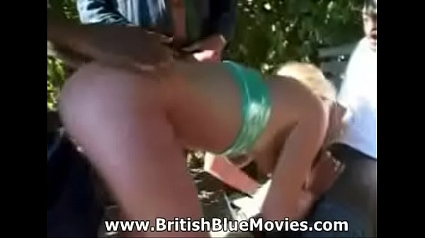 British Pornstar Donna Marie Gang Banged!