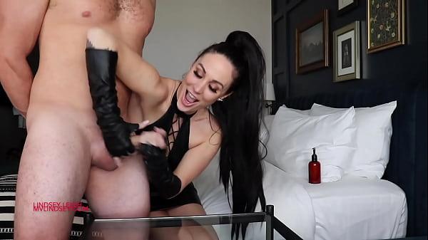 Slave Gets Handjob