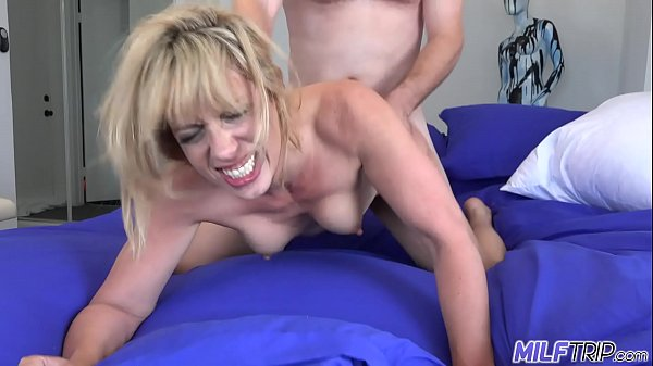 MILF Trip - Slutty blonde MILF gets slammed by fat cock - Part 2