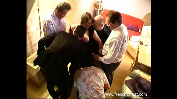 Amateur wife gangbang video