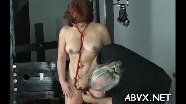 Amateur chick with admirable assets amazing xxx bondage Thumb