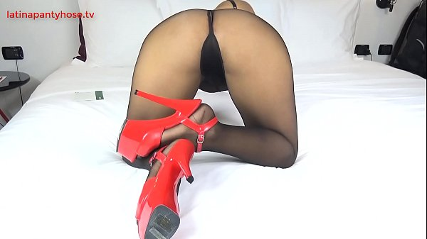 Pantyhose tease, footjob, play and sex,cumshot on ass,doggystyle fuck, hope you like and suscribe for more <3 Thumb