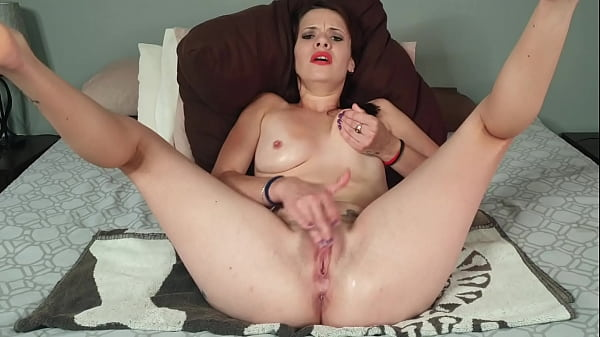 Jerk off as you watch me caress myself | pussy and anal fingering