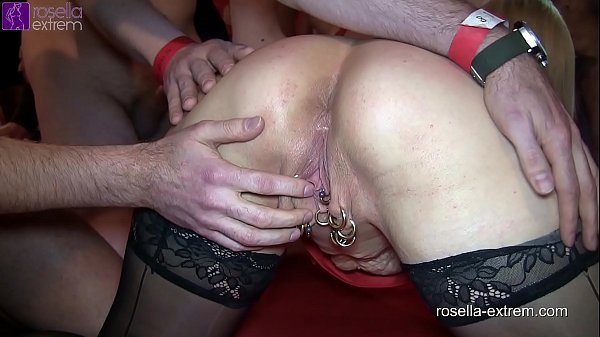 Extreme bareback cum gang bang with Marina and Rosella! Part 1