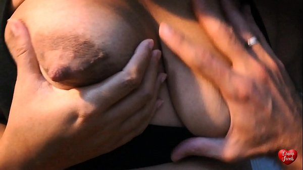 Milking big natural tits and I eat her pussy Thumb