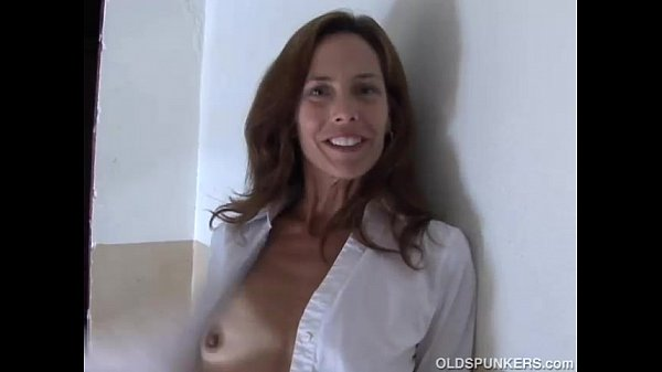 old redhead stockings in spunkers Sherry skinny