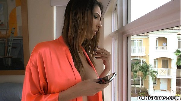 Horny stepmom finds a cock