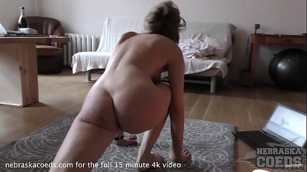 becky berry naked yoga in my living room