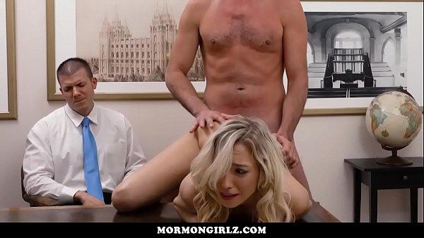 Girl fucked while her cuckold boyfriend watches