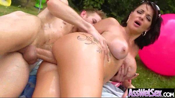 Gorgeous Big Ass Girl (amanda X) In Hard Anal Bang Video-06