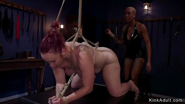 Ebony nun anal fucks lesbian sinner