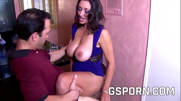 Milf natural with hairy pussy is fucking by hot...