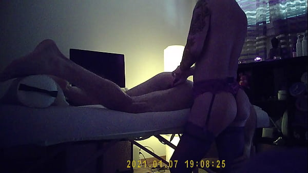 Amazing massage in france by cambodian girl in chic lingerie