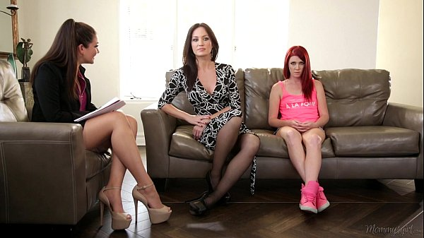 The Family Therapist - Elle Alexandra, Allie Haze, Angela Sommers Thumb