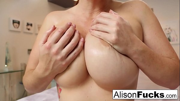 Busty Alison Tyler helps the viewer cum Thumb