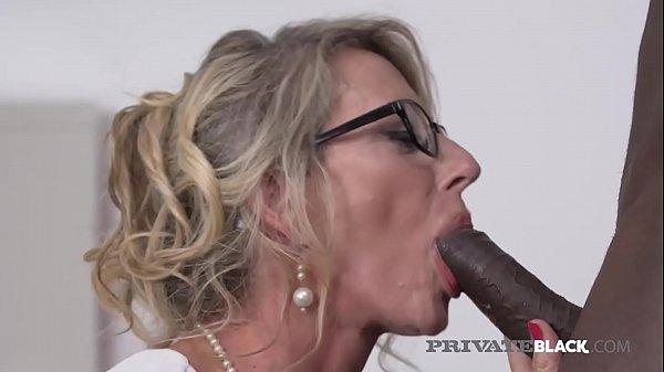 PrivateBlack - Man Milking Milf Marina Beaulieu Dark Dicked! Thumb
