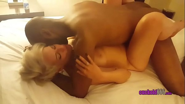 Beautiful Hot Blonde Wife Gets Big Black Cock Part