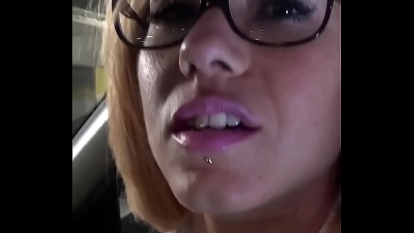Public blowjob in the parking lot by Rose Valer...
