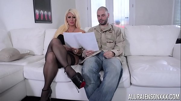 alura jenson busty milf and Ralph long