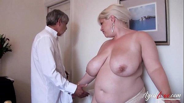 AgedLovE Busty Blonde Mature Recieving Hardcore