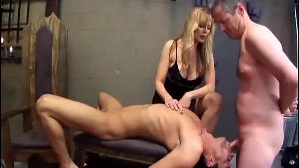 Госпожа и рабы биссексуалы