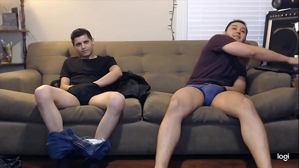 Couple guys are down to try jerking off together