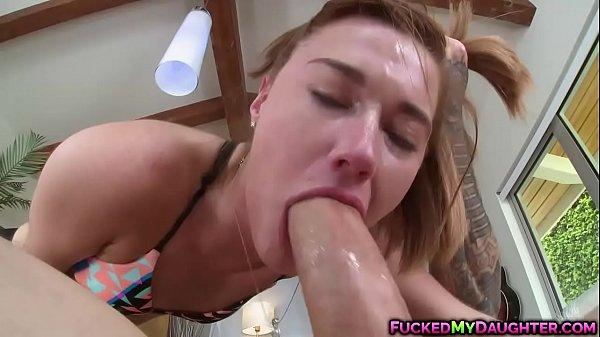 Redhead cutie Alaina Dawson got fucked in her pussy