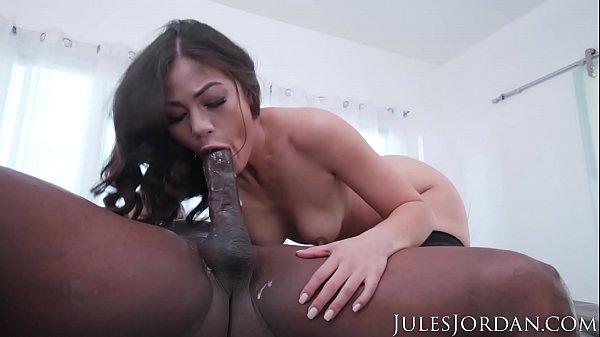 Jules Jordan - Prince goes deep into Kendra Spade's ASS with his Black Cock! Thumb