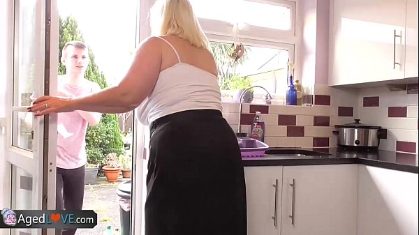 AgedLove Nice blonde granny is fucked by horny man Thumb