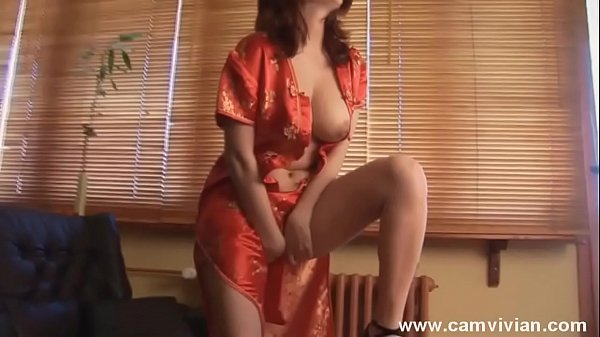 Stripping from my oriental outfit for you in the morning