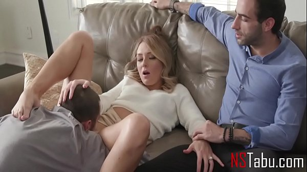 Audacity to fuck another man while husband is in the room - Charlotte Sins