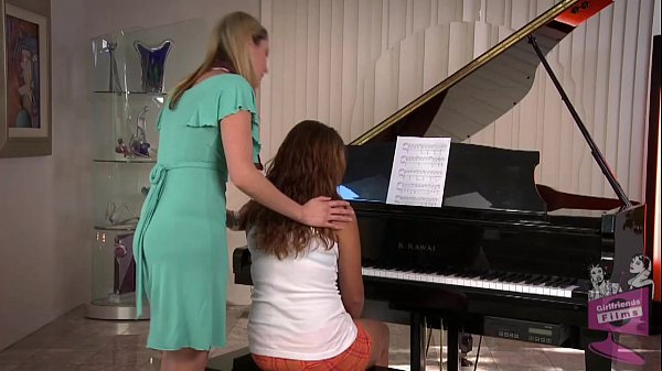 Samantha Ryan and Allie Haze at the Piano Thumb