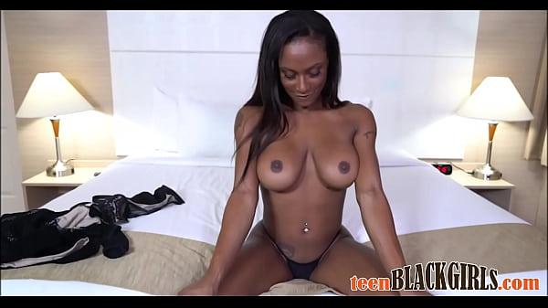 Hot Black Teen Goddess With Big Tits Sarai Minx Casting POV Thumb