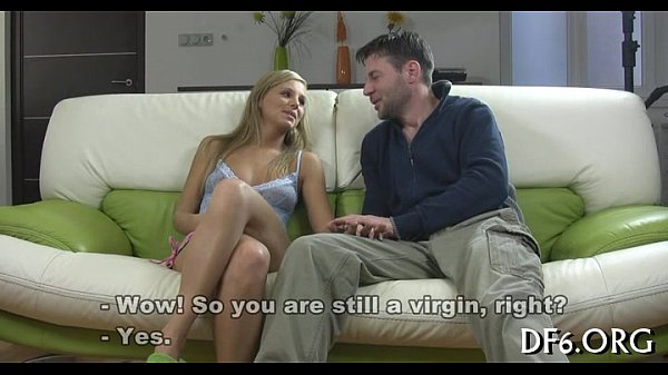 Virgin vagina vs sex-toy