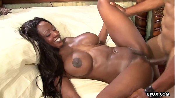 Diamond Jackson likes sex in a doggy- style position
