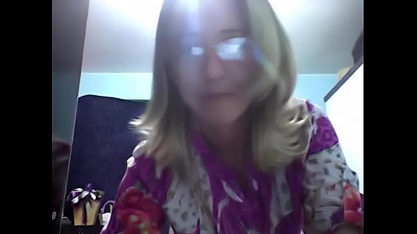 Image Casada exibicionista na webcam!