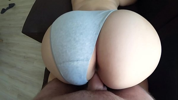Doggy Style through panties with a girl with a fat ass Thumb