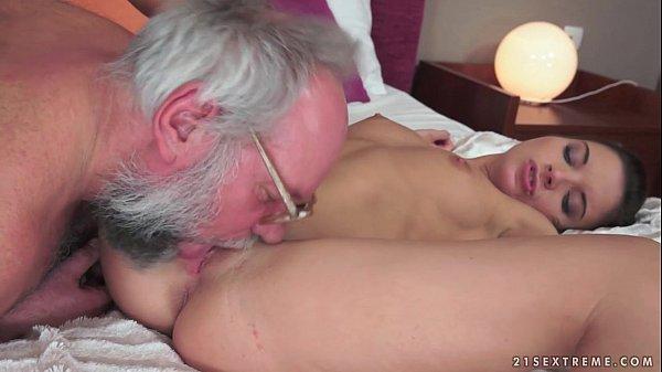 Teens With Tits: Anita Bellini Loves Grandpa Cock